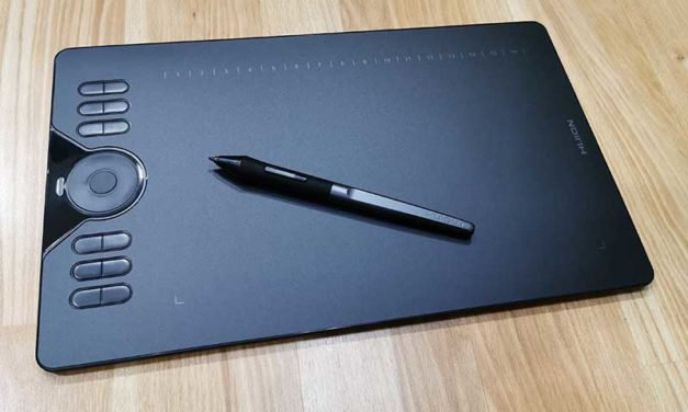 Huion HS610 graphics drawing tablet review